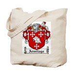 Armitage Coat of Arms Tote Bag