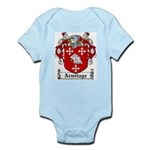 Armitage Coat of Arms Infant Creeper