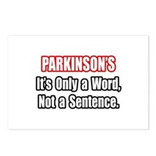 """Parkinson's Quote"" Postcards (Package of 8)"