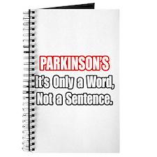 """Parkinson's Quote"" Journal"