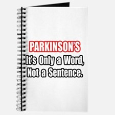 """Parkinson's Quote"" Journal"