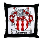 Armory Coat of Arms Throw Pillow