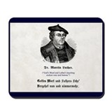 Martin luther Mouse Pads