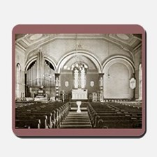 Lutheran Church in Somerset, PA, 1906 Mousepad