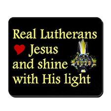 Jesus Shines in Us Mousepad