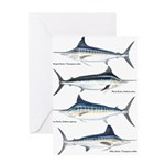 4 Marlin Greeting Card