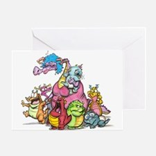 Durkin's Dragons Greeting Card