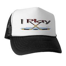I Play Hockey Trucker Hat