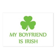 my boyfriend is irish Postcards (Package of 8)