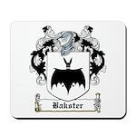 Bakster Coat of Arms Mousepad