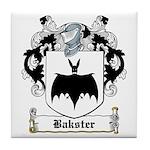 Bakster Coat of Arms Tile Coaster