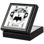 Bakster Coat of Arms Keepsake Box