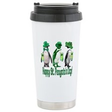 St. Penguin's Day Travel Coffee Mug
