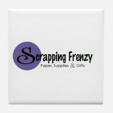 Scrapping Frenzy Tile Coaster
