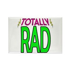 'Totally Rad' Rectangle Magnet