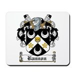 Bannon Coat of Arms Mousepad