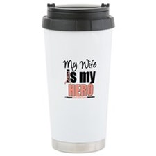 EndometrialCancerHeroWife Travel Mug