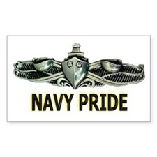 Surface Navy Pride Rectangle Decal