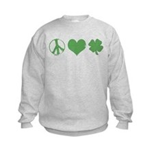 Peace Love Irish Sweatshirt
