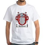 Barnwell Coat of Arms White T-Shirt