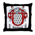 Barnwell Coat of Arms Throw Pillow