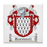 Barnwell Coat of Arms Tile Coaster