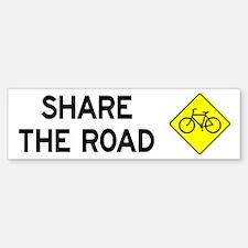 Share the Road Bumper Sticker (50 pk)