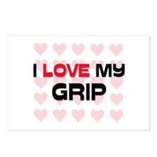 I Love My Grip Postcards (Package of 8)