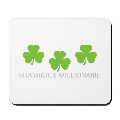 shamrock millionaire Mousepad
