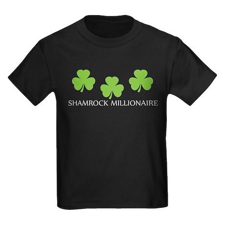 shamrock millionaire Kids Dark T-Shirt