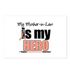 EndometrialCancerMother-in-Law Postcards (Package