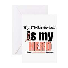 EndometrialCancerMother-in-Law Greeting Cards (Pk