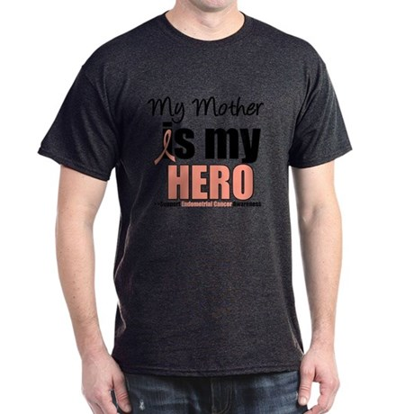 EndometrialCancerHeroMother Dark T-Shirt