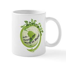 World Round Clear Mugs