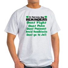 St. Patricks Day Reminders T-Shirt