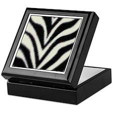"""""""Zebra Print"""" Keepsake Box"""