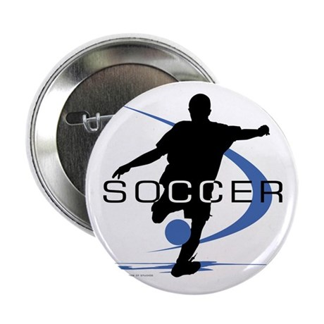 "Soccer 2.25"" Button"