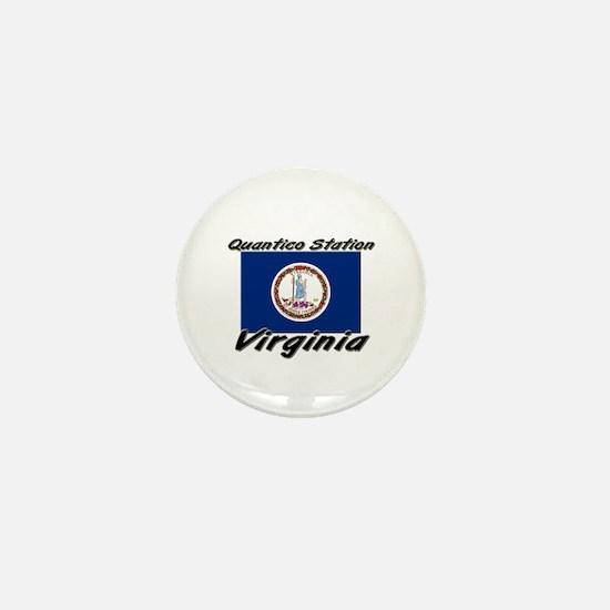 Quantico Station virginia Mini Button