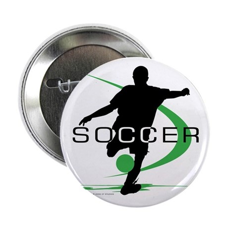 "Soccer 2.25"" Button"