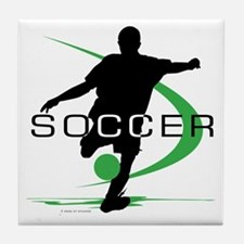 Soccer Tile Coaster