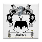 Baxter Coat of Arms Tile Coaster