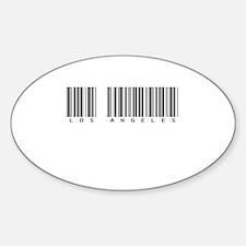 Los Angeles Oval Sticker (10 pk)
