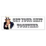 Uncle Sam Bumper Sticker Ten-Pack