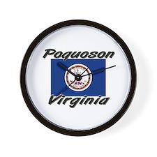 Poquoson virginia Wall Clock