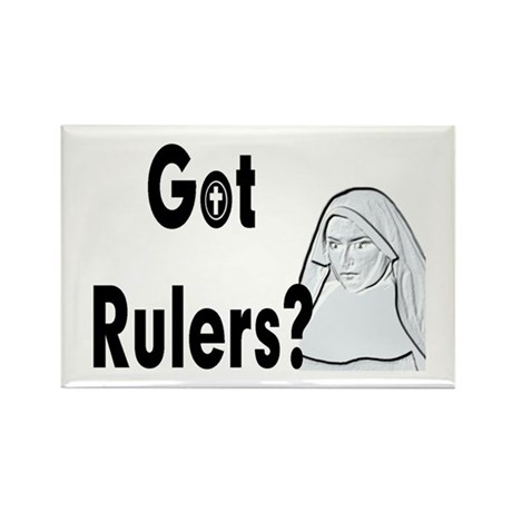 Got Rulers? Items Rectangle Magnet