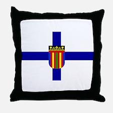 Coptic Flag Throw Pillow