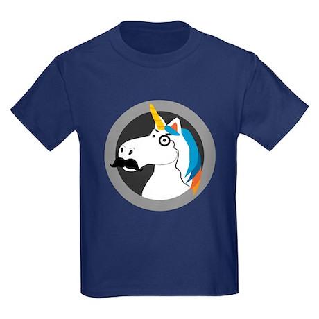 Baron Cornelius Van Horn Kids Dark T-Shirt
