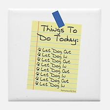 To Do List Tile Coaster