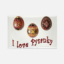 I Love Pysanky Rectangle Magnet