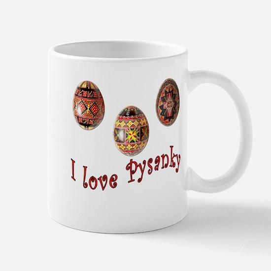 I Love Pysanky Mug